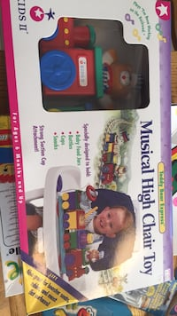 Brand new in box musical high chair toy. Vaughan, L4J 5L7