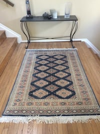 brown and black area rug Rockville, 20852