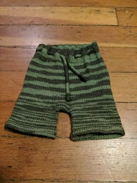 Green Knitted Boxers Diaper Cover