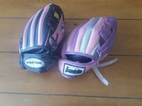 blue and purple Wilson baseball mitt Burnaby, V5B 1W3