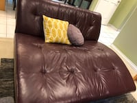 Lounger in leather from EQ 3 Vancouver, V5V 3L6