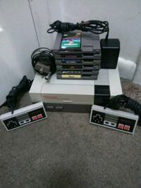 Original NES and Games with wires and controllers Middletown