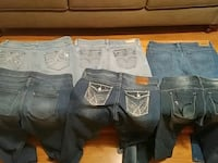 Like new blue jeans 9 10 to size 13 Ardmore, 35739