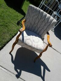 antique armchair needs reupholstered