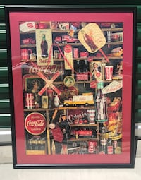 Coca-Cola puzzle with black frame Riverside, 92506