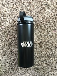 black and grey StarWars tumbler