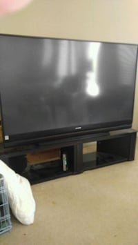 72 inch. Black flat screen TV. with remote Phoenix, 85041