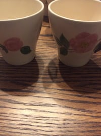 JUST REDUCED  price per item Mugs by Franciscan made in England  Rockville
