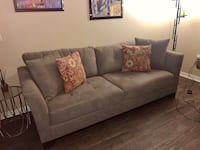 Taupe sofa like new. 90 inches long Weston, 33326