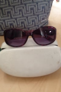 black framed sunglasses with case Kelowna, V1Y 2R3