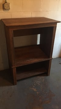 Wooden entertainment center. Real wood. I was going to repurpose it and make a bar but don't have the time.  Warrenton