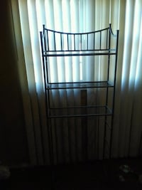 stainless steel framed glass top rack Glen Burnie, 21060