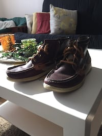 Brown sperry top-sider boots West Lafayette, 47906