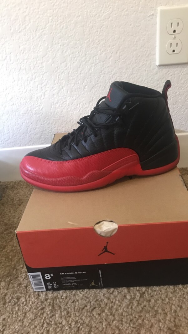 4f8a9087b6f Used unpaired 8 flu game Air Jordan 12 with box for sale in San ...