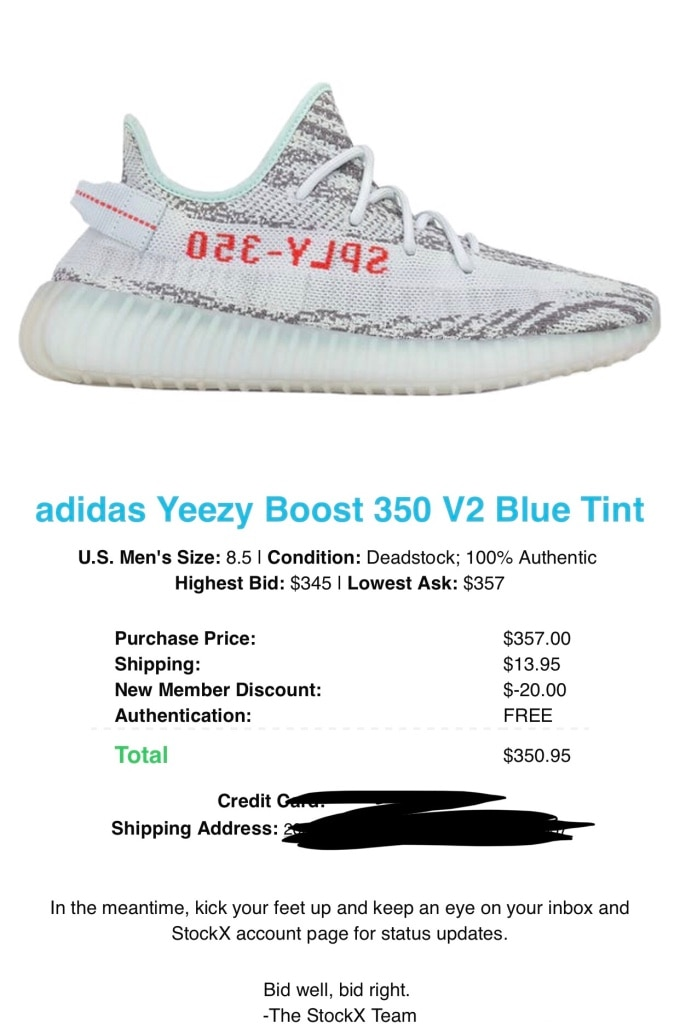 Cheap Yeezy 350 V2 Blue Tint Shoes for