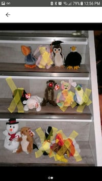 VINTAGE RETIRED COLLECTABLE BEANIE BABIES