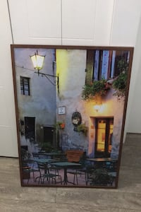 Large ikea wooden picture frame