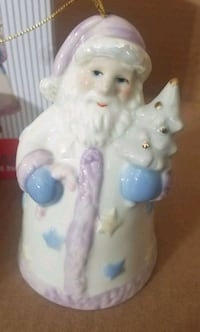 Madison and Max Santa Bell ornament  Hagerstown, 21742