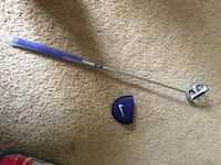 grey and blue Nike golf putter Houston, 77598