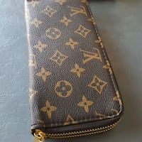 black and brown Louis Vuitton leather wallet Laval, H7W