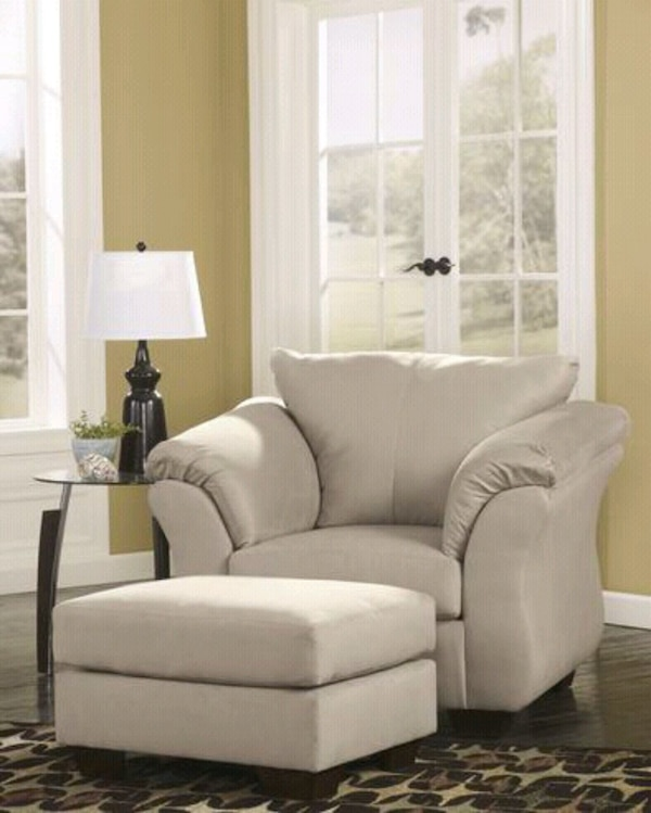 Living Room Sets Houston: Used [SPECIAL] Darcy Stone Living Room Set For Sale In