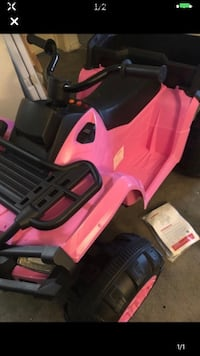 Pink Power wheels NEW