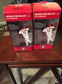 Ryan Zimmerman bobble heads (new in box) Arlington, 22202