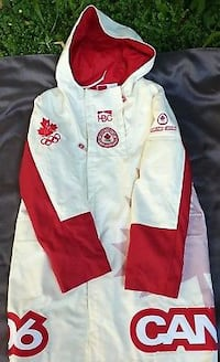 BNWT Canada Olympic 2006 Turin Winter Parka Jacket Burlington
