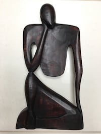 human form wooden figurine