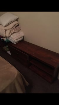 brown wooden 3-drawer chest Oklahoma City, 73109