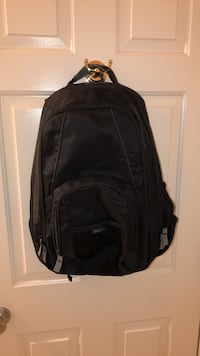 black and gray leather backpack Johns Creek, 30097