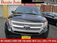 2013 Ford Explorer black bladensburg, 20710