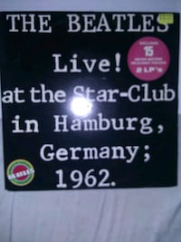 Beatles live in Germany mint