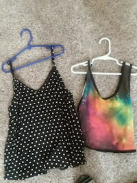 Size Small Tank top shirts Lubbock, 79410