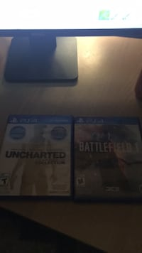 two Sony PS4 game cases Port Coquitlam, V3C 1R4