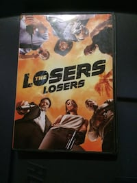 The Losers DVD case