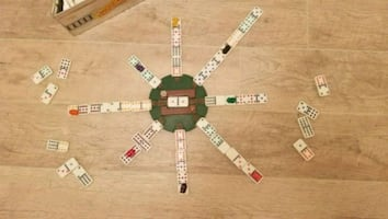 Mexican Train Game by Fundex 2003