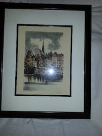 Signed European Serigraph null