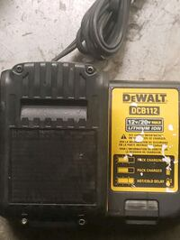 DEWALT CHARGER AND ONE BATTERY$60.00  Torrance, 90503