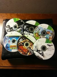 Xbox 360 with Several games