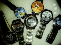 NFL Watches $20.00 And Mickey Mouse $15.00  1372 mi