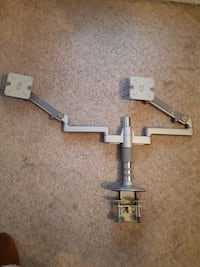 """M/Flex 12"""" post clamp mount For 2 monitors,  Guelph, N1L 1G8"""