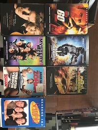Assorted DVD movie case collection Toronto, M9P 2L6