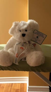White bear plush toy Vaughan, L4H 1X6