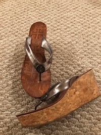 Tory Burch wedge sandals size 6 Gaithersburg, 20878