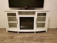 Tv stand with electric fireplace Dumont, 07628