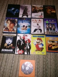 13 dvd movies Rock Hill