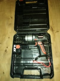 Very Nice Craftsman  [PHONE NUMBER HIDDEN] V 3/8 Cordless Drill/Driver with case MODESTO