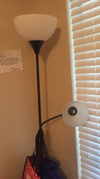 black and white torchiere lamp Lufkin, 75904