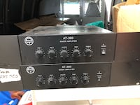 2x AT-360 mixing amplifiers Canton, 48187